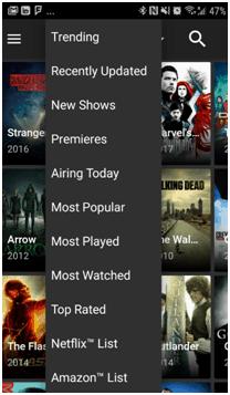 Terrarium TV Trending