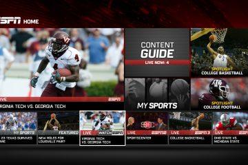 Cómo tener Streaming de ESPN