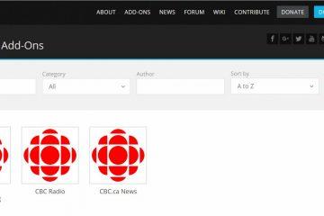 Come guardare la CBC fuori dal Canada su Kodi