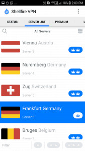 Shellfire VPN Android App