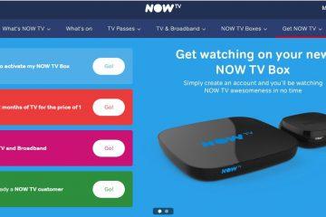 Come guardare Now TV fuori dal Regno Unito