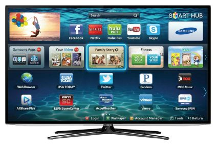 How to connect your Samsung Smart TV to the Shellfire Box VPN Router