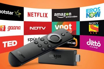 Accéder à des contenus en ligne via la Fire TV d'Amazon