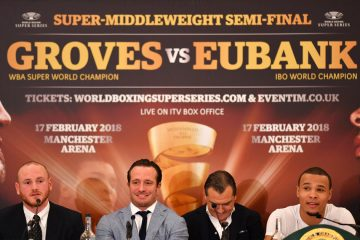 How to watch the Groves vs Eubank Jr WBSS fight