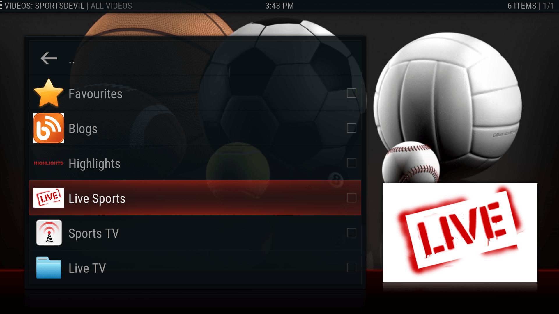 SportsDevil