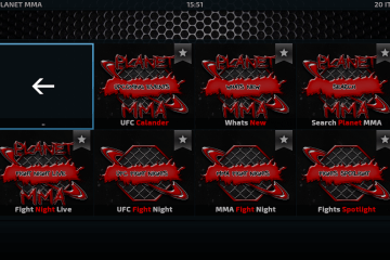 Come installare l'add-on Planet MMA di Kodi