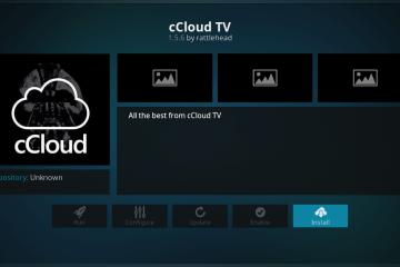Installer l'add-on Kodi cCloud, la seule méthode qui marche en avril 2020