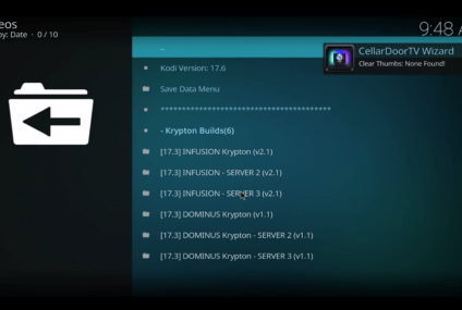 Installer le TV Build CellarDoor sur Kodi