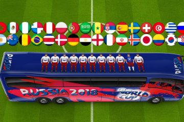 Come guardare i Mondiali di Calcio 2018 in streaming dall'estero