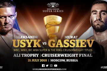 Accéder au Combat Final WBSS – Usyk vs Gassiev en ligne