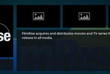 FilmRise, l'add-on pour les films, les documentaires et les émissions TV