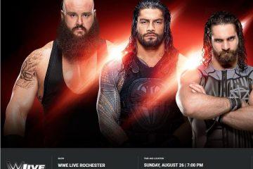 Wie du WWE Live in Rochester anschauen kannst