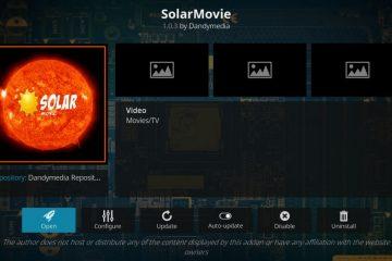 Installer l'add-on SolarMovie sur Kodi