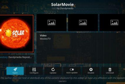 Installazione dell'Add-on SolarMovie su Kodi