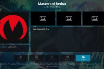 Installer Masterani Redux sur Kodi