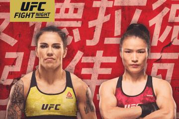 UFC NOCHE DE PELEAS: ANDRADE VS ZHANG