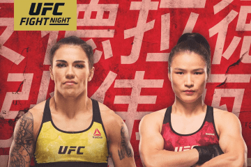 UFC FIGHT NIGHT : ANDRADE VS ZHANG