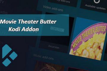 Das Kodi-Add-On Movie Theater Butter