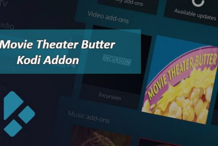 Movie Theater Butter Add-On for Kodi