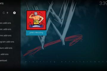 Guia passo a passo para instalar o add-on Johki's Wrestling no Kodi