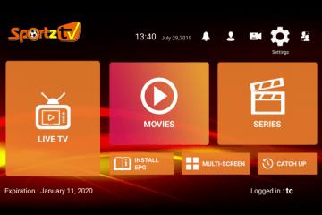 Como instalar o Sportz TV no Firestick e Android