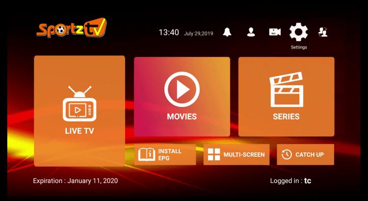 Installer Sportz TV sur Firestick et Android