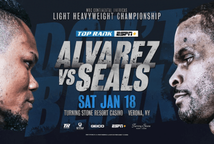 "Watch Eleider ""Storm"" Alvarez vs. Michael Seals"