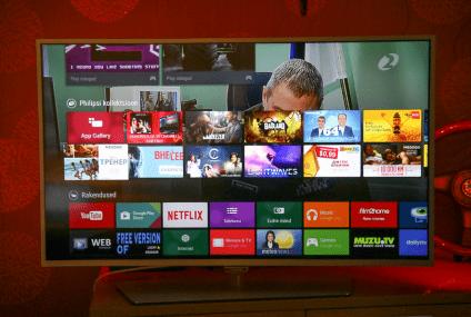 Usando uma Smart TV Android para assistir aos melhores programas disponíveis
