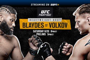 Best Addon to Watch UFC Fight Night Blaydes vs. Volkov
