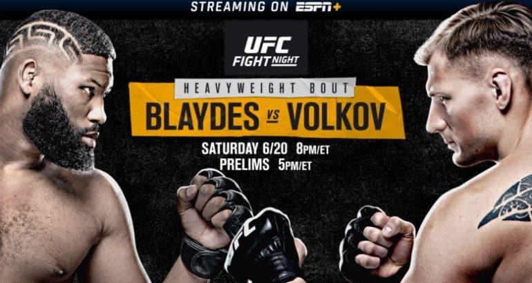 El Mejor Addon para Ver la Noche de Pelea UFC Blaydes vs. Volkov