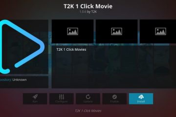 Nuova guida passo dopo passo per installare l'add-on di Kodi T2K 1 Click Movie (Aggiornamento 2020)