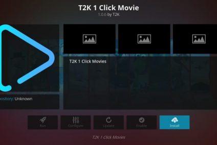 Nueva Guía Paso a Paso para Instalar T2K 1 Click Movie el Addon de Kodi (Actualización2020)