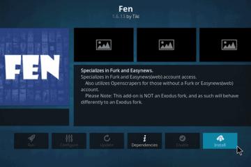 Como Instalar o Complemento FEN no Kodi? (Fire Stick, Fire TV e Android TV Box)
