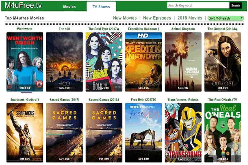 69/5000 Os 15 melhores sites como M4uFree Movie para assistir filmes e programas de TV...