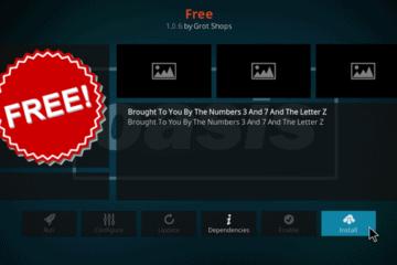 Installer l'add-on FREE pour Kodi en 2021