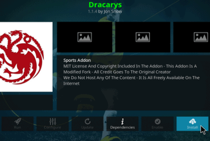 Comment installer l'addon Kodi Dracarys – regarder la télévision américaine en direct gratuitement en 2021.