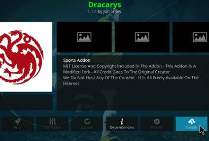 Como instalar o complemento Dracarys no Kodi – Streaming de TV dos EUA ao vivo gratuita em 2021