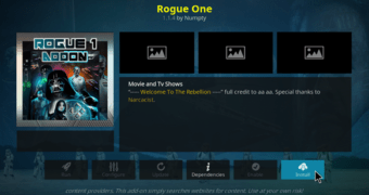 Working Method to Install Rogue One Kodi Addon in 2021