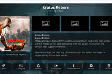 Come Installare l'add-on di Kodi Kratos Reborn nel 2021?