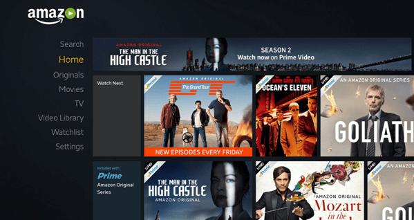 Amazon Prime Videos