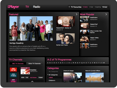 Programas de TV BBC IPlayer