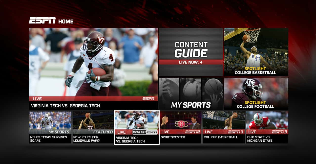 How To Free Live Stream Espn Sports Online Anywhere In The World