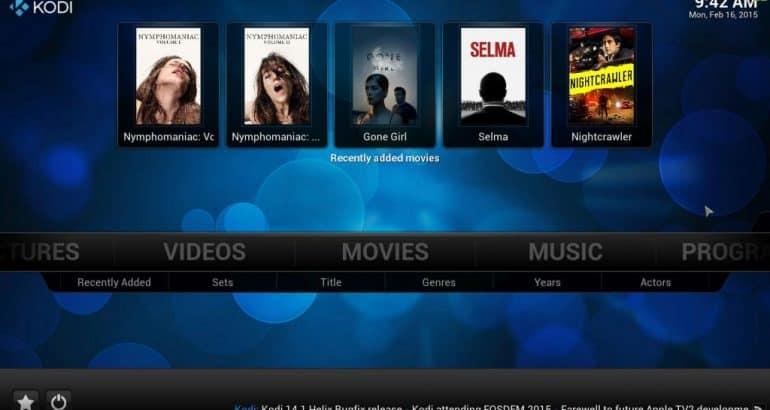 Netflix USA on Kodi TV
