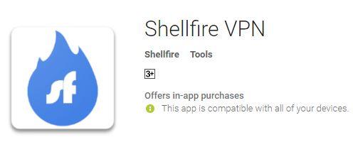 Shellfire VPN App