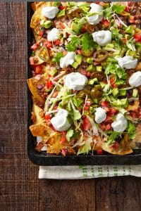 Friday Night Loaded Nachos