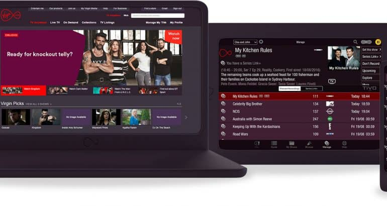 Virgin TV On The Go