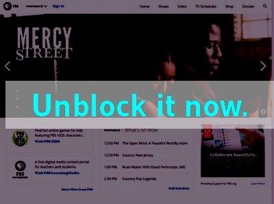Unblock PBS