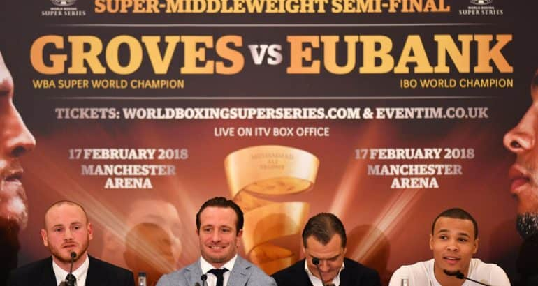 George Groves Chris Eubank Jr Fight WBSS