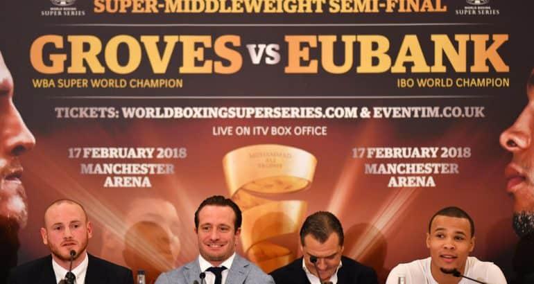 George Groves Chris Eubank Jr Fight WBSS