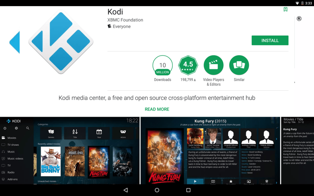 Kodi on Android